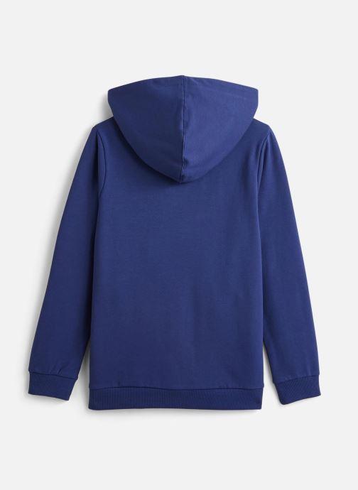 Vêtements Name it Sweatshirt Hoodie Nkmvoltano Swe Card Bru Ll Bleu vue bas / vue portée sac