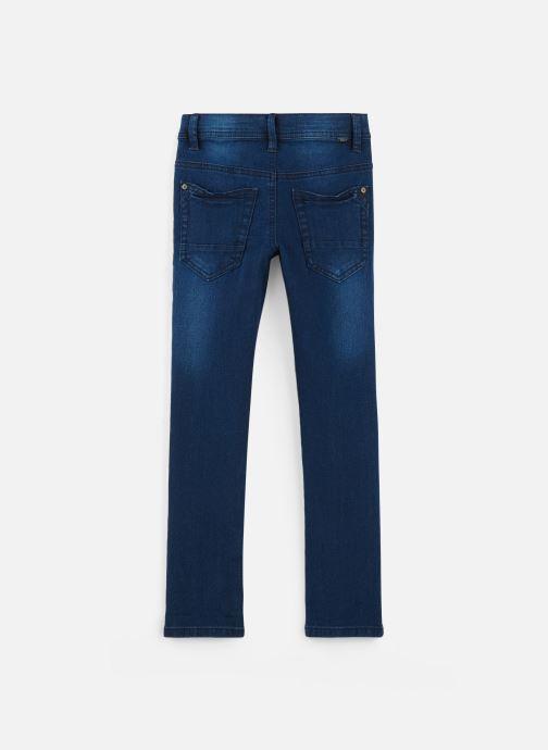Vêtements Name it Jean Droit Nkmsilas Dnmcore Pant Camp J Bleu vue bas / vue portée sac