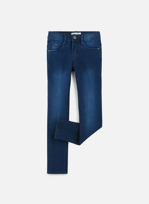Vêtements Name it Jean Droit Nkmsilas Dnmcore Pant Camp J Bleu vue détail/paire