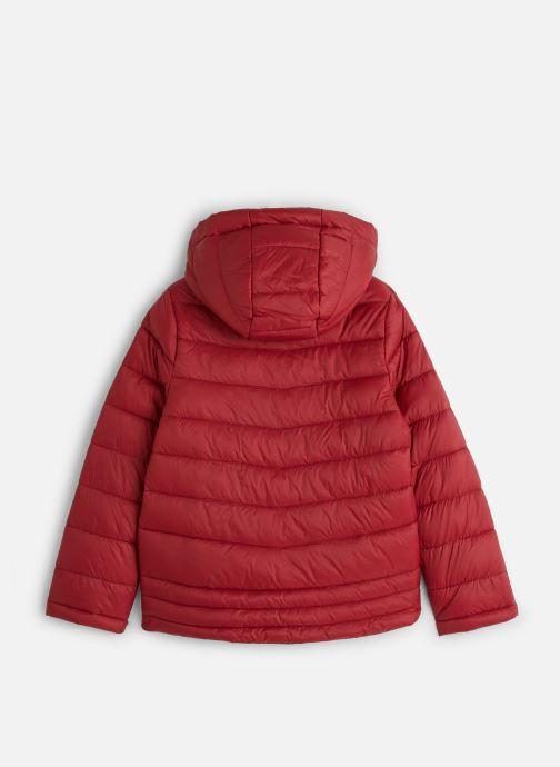 Vêtements Name it Doudoune Nkmmove Jacket Pb Rouge vue bas / vue portée sac