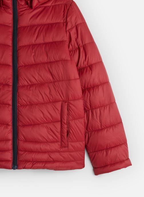 Vêtements Name it Doudoune Nkmmove Jacket Pb Rouge vue portées chaussures