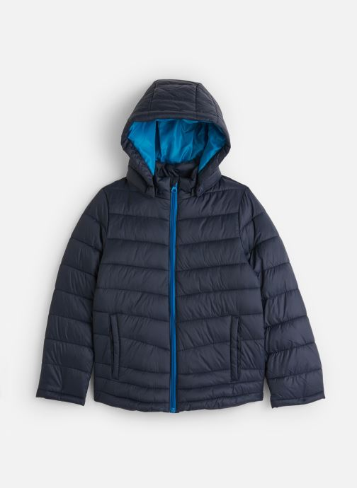 Vêtements Name it Doudoune Nkmmove Jacket Pb Bleu vue détail/paire
