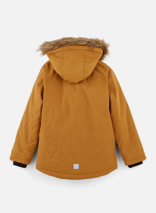 Vêtements Name it Manteau Caban Duffle Coat Nkmmalien Jacket Noos Jaune vue bas / vue portée sac