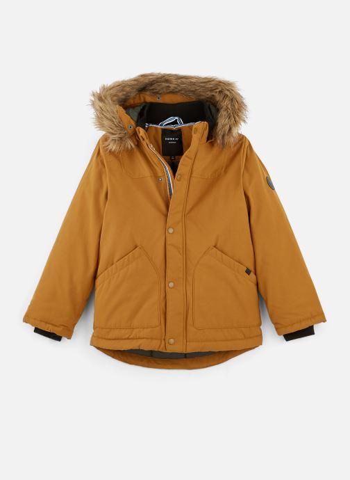 Vêtements Name it Manteau Caban Duffle Coat Nkmmalien Jacket Noos Jaune vue détail/paire