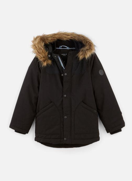 Vêtements Name it Manteau Caban Duffle Coat Nkmmalien Jacket Noos Noir vue détail/paire