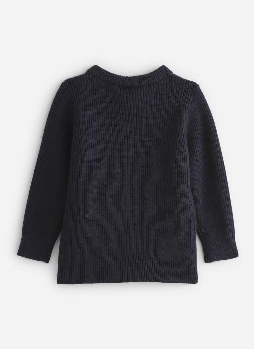 Vêtements Name it Gilet Nmfluga Ls Knit Card Bleu vue bas / vue portée sac
