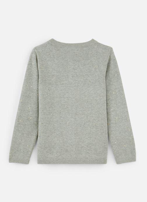 Vêtements Name it Gilet Nmfolus Ls Knit Card Gris vue bas / vue portée sac
