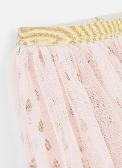 Vêtements Name it Jupe Midi Nmfonce Tulle Skirt Rose vue portées chaussures
