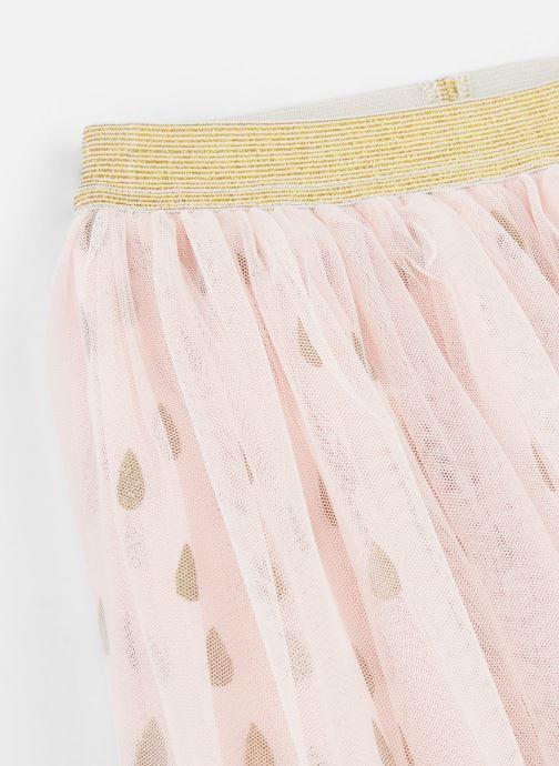 Vêtements Name it Jupe Midi Nmfonce Tulle Skirt Rose vue portées chaussures
