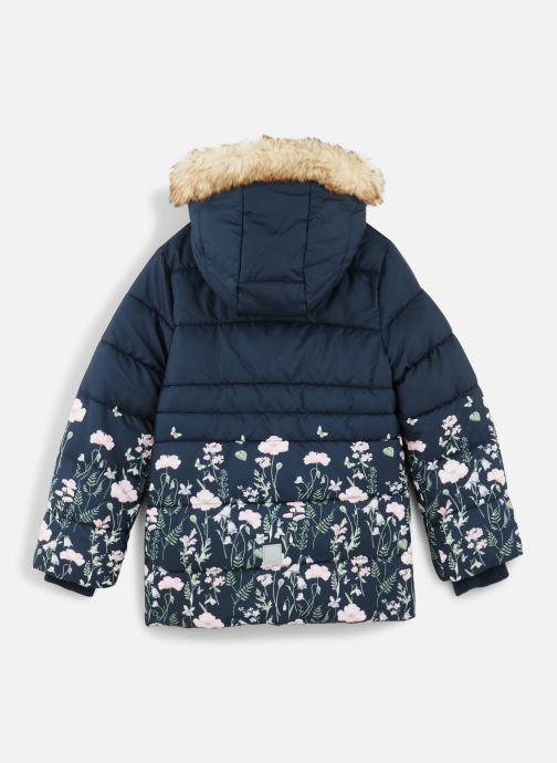 Vêtements Name it Doudoune Nmfmartine Jacket Bleu vue bas / vue portée sac