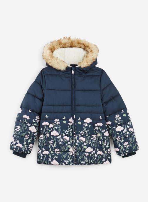 Vêtements Name it Doudoune Nmfmartine Jacket Bleu vue détail/paire