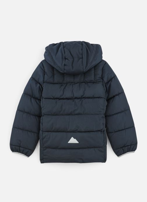 Vêtements Name it Doudoune Nmfmus Puffer Jacket Camp Bleu vue bas / vue portée sac