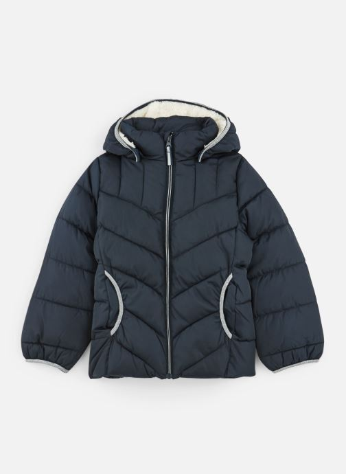 Vêtements Name it Doudoune Nmfmus Puffer Jacket Camp Bleu vue détail/paire