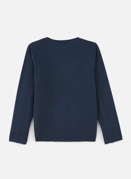 Vêtements Name it T-Shirt Nmmkiddo Ls Top Bleu vue bas / vue portée sac