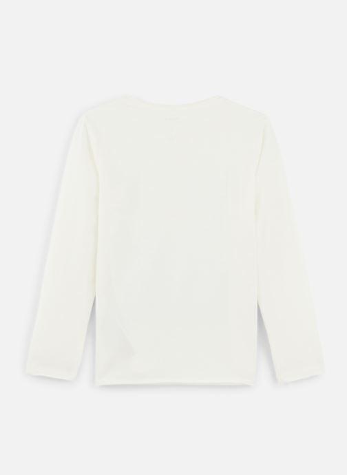 Vêtements Name it T-Shirt Nmmkiddo Ls Top Blanc vue bas / vue portée sac