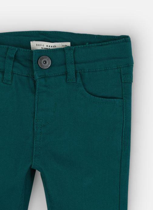 Vêtements Name it Pantalon Droit Nmmtheo Twiadam Pant Bt Vert vue portées chaussures