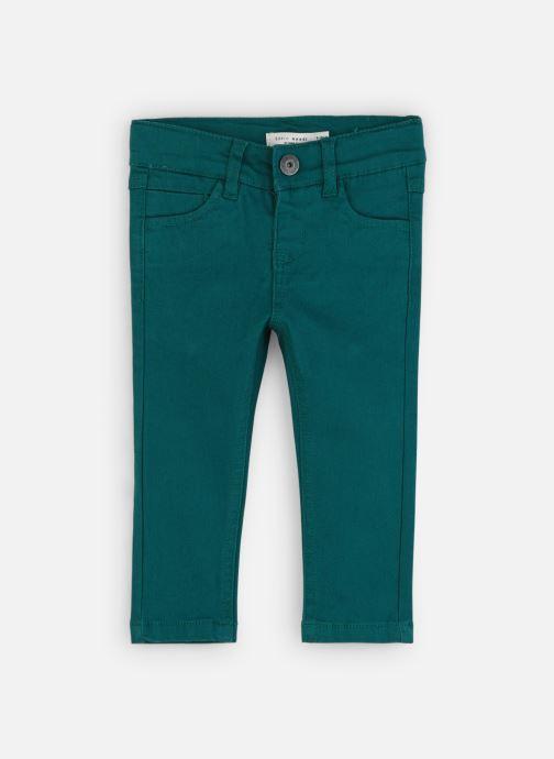 Vêtements Name it Pantalon Droit Nmmtheo Twiadam Pant Bt Vert vue détail/paire