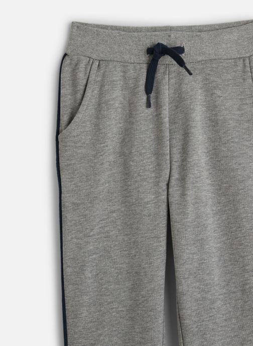 Vêtements Name it Pantalon Casual Nmmniller Swe Pant Bru Camp Gris vue portées chaussures