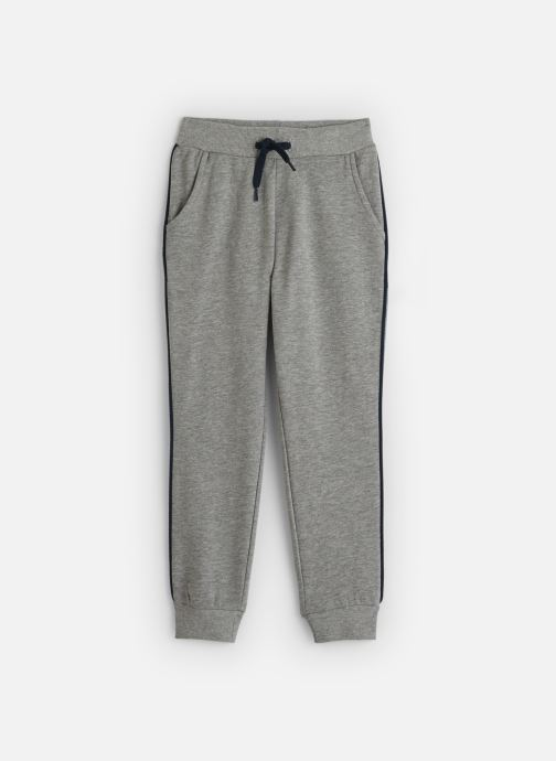 Vêtements Name it Pantalon Casual Nmmniller Swe Pant Bru Camp Gris vue détail/paire