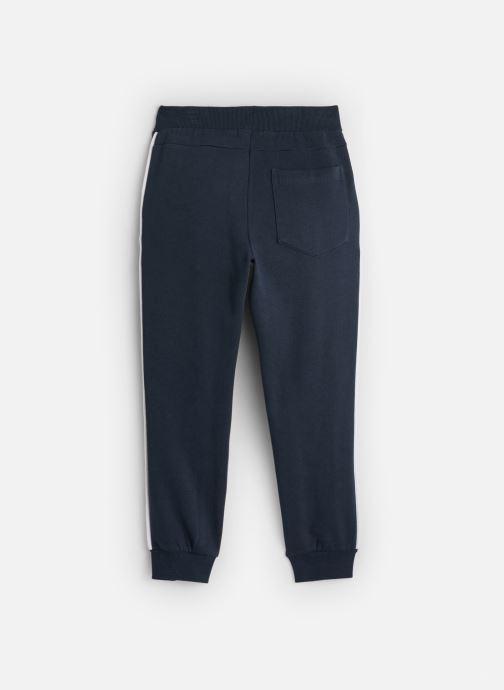 Vêtements Name it Pantalon Casual Nmmniller Swe Pant Bru Camp Bleu vue bas / vue portée sac