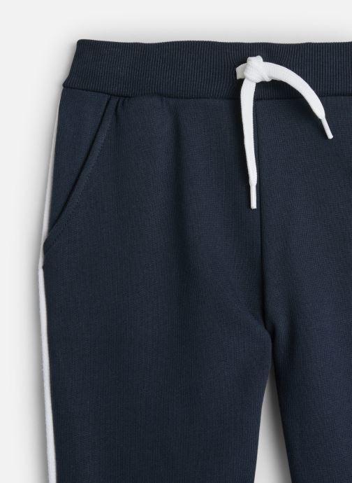Vêtements Name it Pantalon Casual Nmmniller Swe Pant Bru Camp Bleu vue portées chaussures