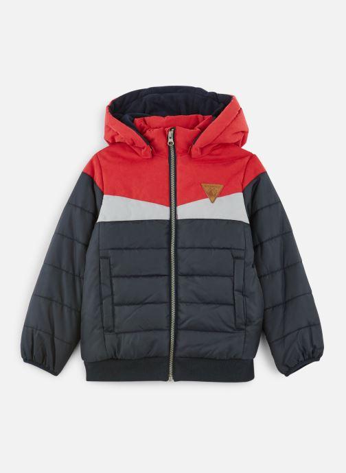 Vêtements Name it Doudoune Nmmmagnus Puffer Jacket Bleu vue détail/paire