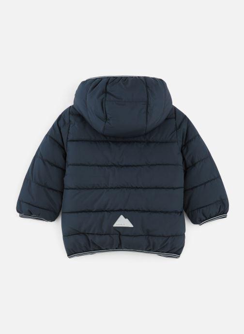 Vêtements Name it Doudoune Nmmmus Puffer Jacket Camp Bleu vue bas / vue portée sac