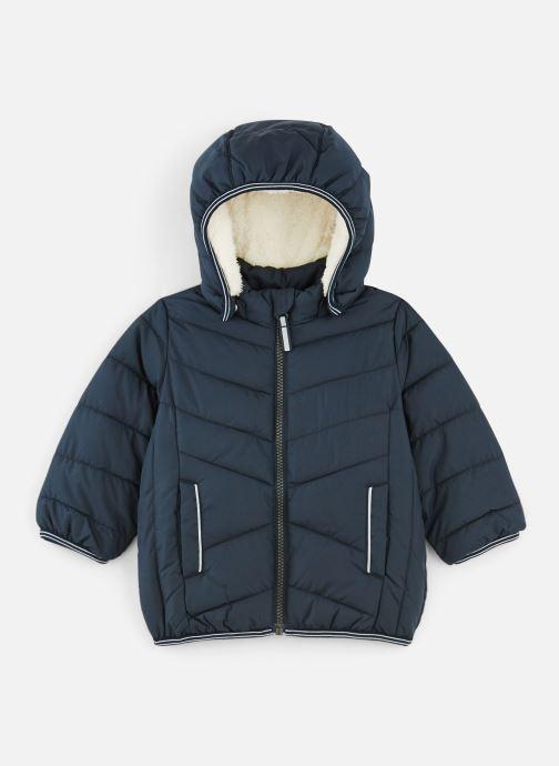Vêtements Name it Doudoune Nmmmus Puffer Jacket Camp Bleu vue détail/paire