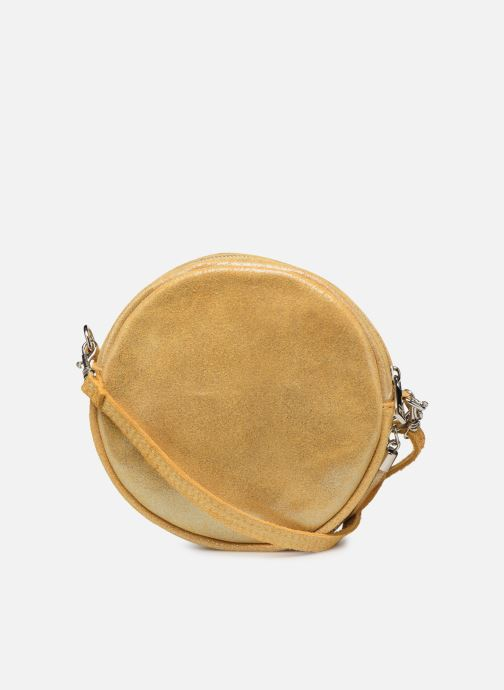 Bolsos de mano Georgia Rose Mouna Leather Amarillo vista de frente