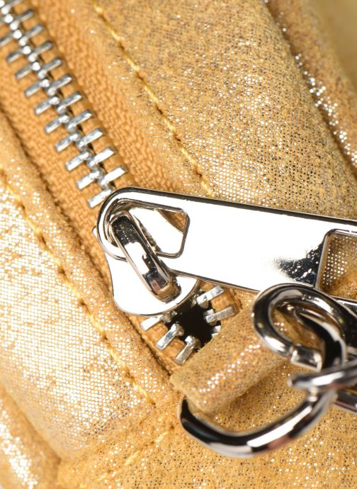 Bolsos de mano Georgia Rose Mouna Leather Amarillo vista lateral izquierda