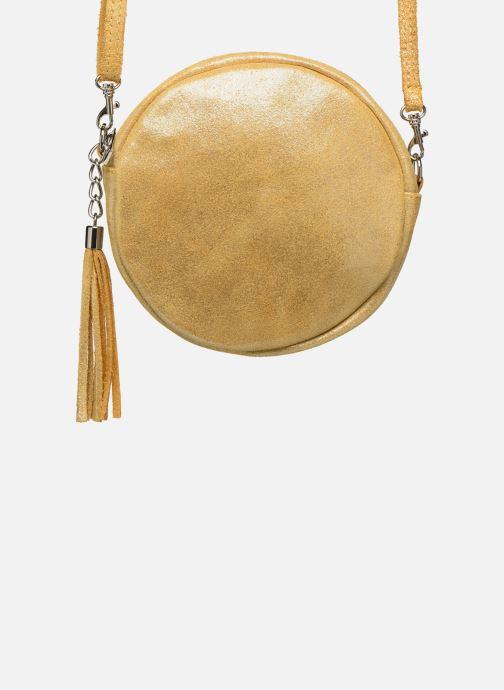 Bolsos de mano Georgia Rose Mouna Leather Amarillo vista de detalle / par