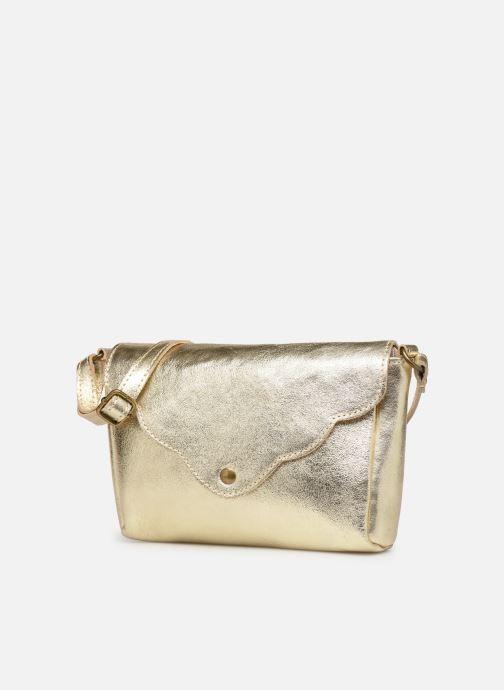 Bolsos de mano Georgia Rose Mifesta Leather Oro y bronce vista del modelo