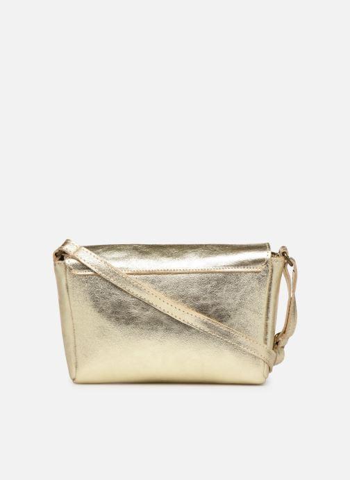 Handtaschen Georgia Rose Mifesta Leather gold/bronze ansicht von vorne