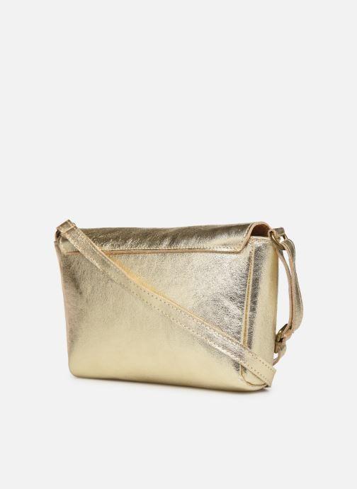 Handtaschen Georgia Rose Mifesta Leather gold/bronze ansicht von rechts