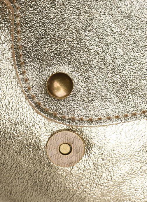 Sacs à main Georgia Rose Mifesta Leather Or et bronze vue gauche