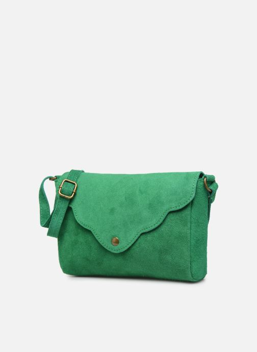Bolsos de mano Georgia Rose Mifesta Leather Verde vista del modelo