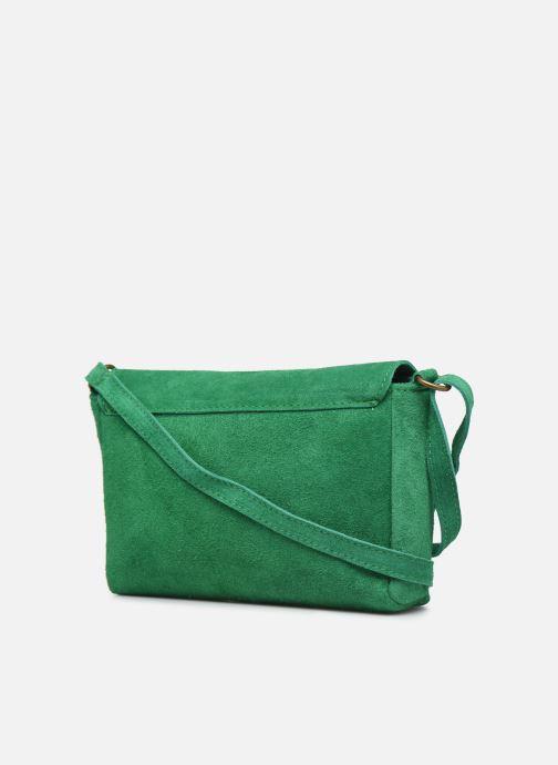 Bolsos de mano Georgia Rose Mifesta Leather Verde vista lateral derecha