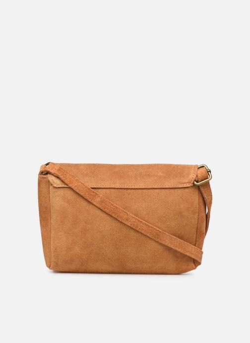 Håndtasker Georgia Rose Mifesta Leather Brun se forfra