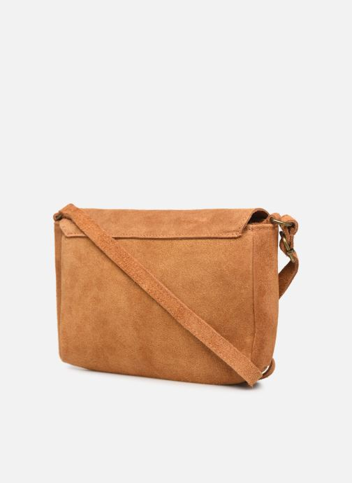 Handtassen Georgia Rose Mifesta Leather Bruin rechts