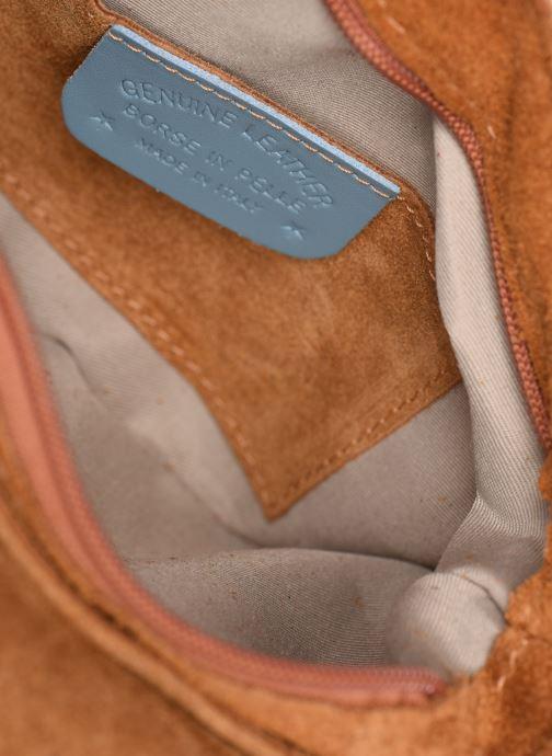 Handtassen Georgia Rose Mifesta Leather Bruin achterkant
