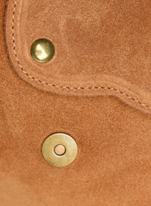 Bolsos de mano Georgia Rose Mifesta Leather Marrón vista lateral izquierda