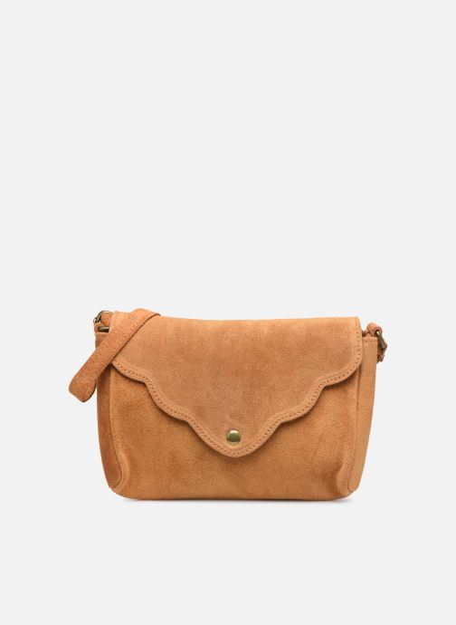 Handtassen Georgia Rose Mifesta Leather Bruin detail