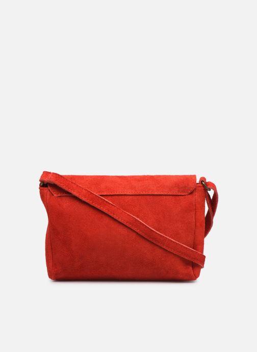Bolsos de mano Georgia Rose Mifesta Leather Rojo vista de frente