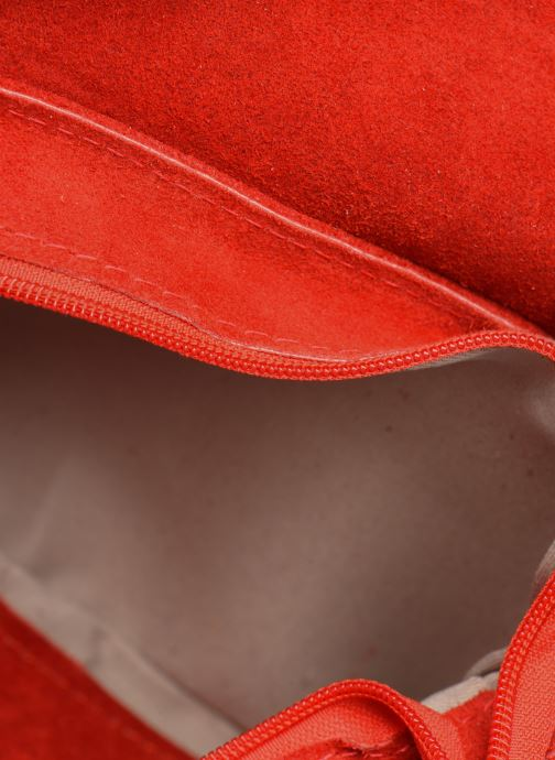 Handtaschen Georgia Rose Mifesta Leather rot ansicht von hinten