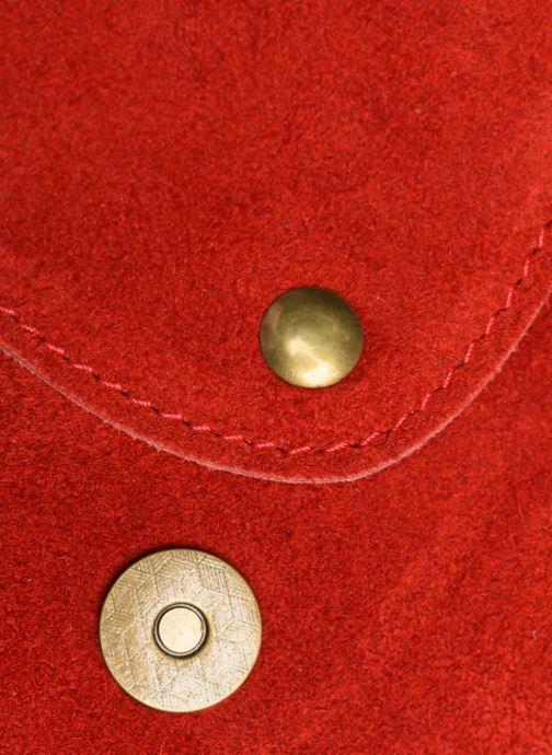 Handtaschen Georgia Rose Mifesta Leather rot ansicht von links