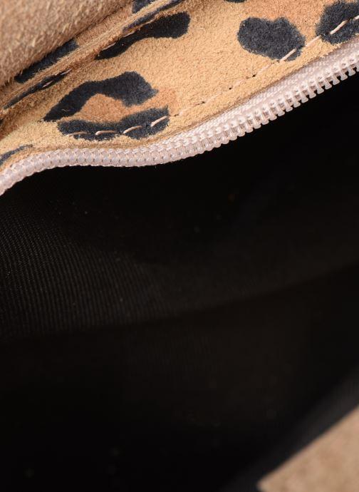 Sacs à main Georgia Rose Mifesta Leather Beige vue derrière