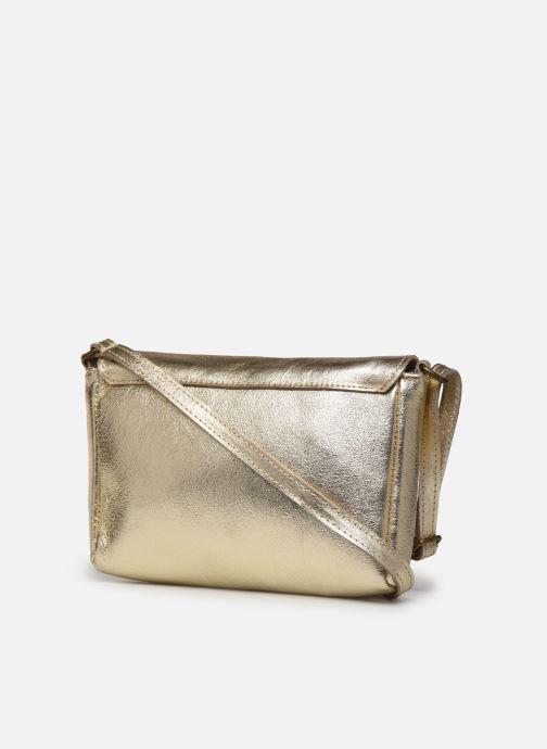 Bolsos de mano Georgia Rose Mifesta Leather Oro y bronce vista lateral derecha