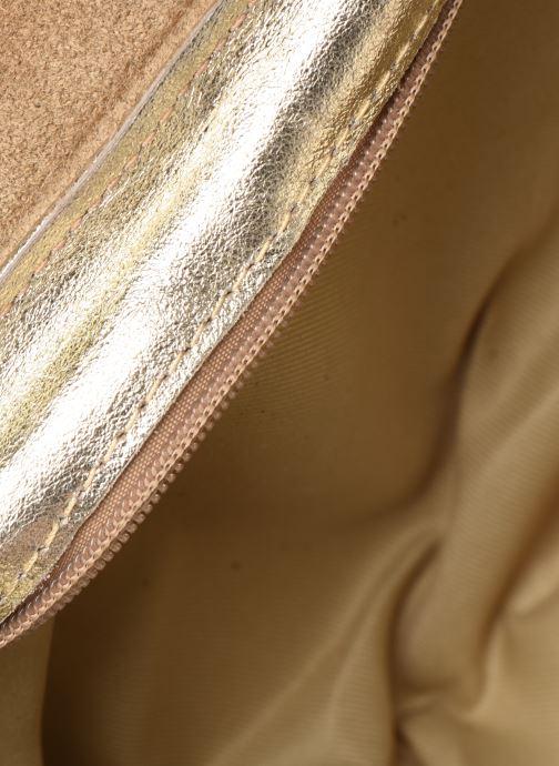 Bolsos de mano Georgia Rose Mifesta Leather Oro y bronce vistra trasera