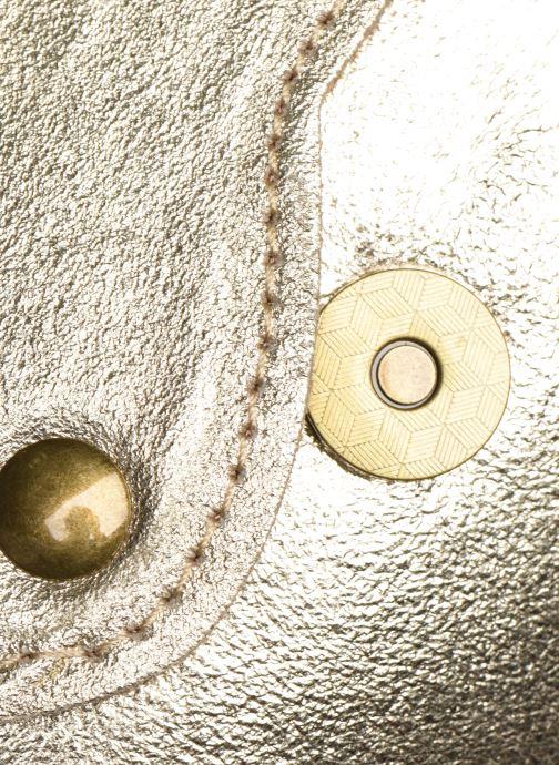Bolsos de mano Georgia Rose Mifesta Leather Oro y bronce vista lateral izquierda