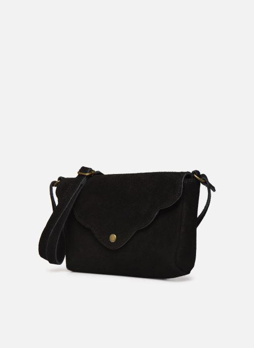 Bolsos de mano Georgia Rose Mifesta Leather Negro vista del modelo
